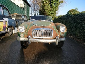 1958 Mga '58 lhd for restoration, complete project