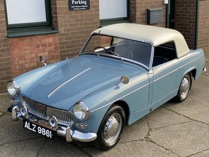 Picture of 1962 Beautiful early GAN 1 chassis MG Midget  SOLD