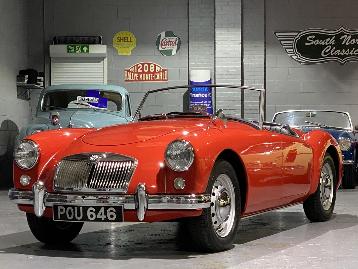 Stunning fully restored 1956 MGA Roadster, outstanding! For Sale (picture 1 of 6)