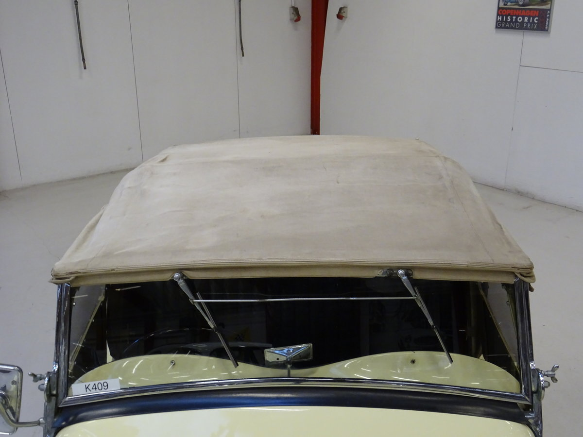 1947 MG TC Sequoia Cream with Green leather interior For Sale (picture 12 of 24)