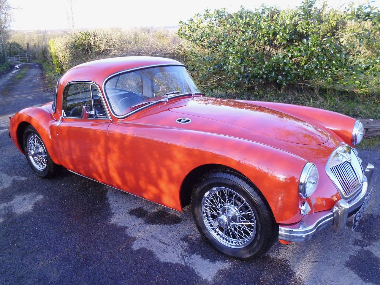 1957 MGA Coupe Total Restoration For Sale (picture 1 of 6)
