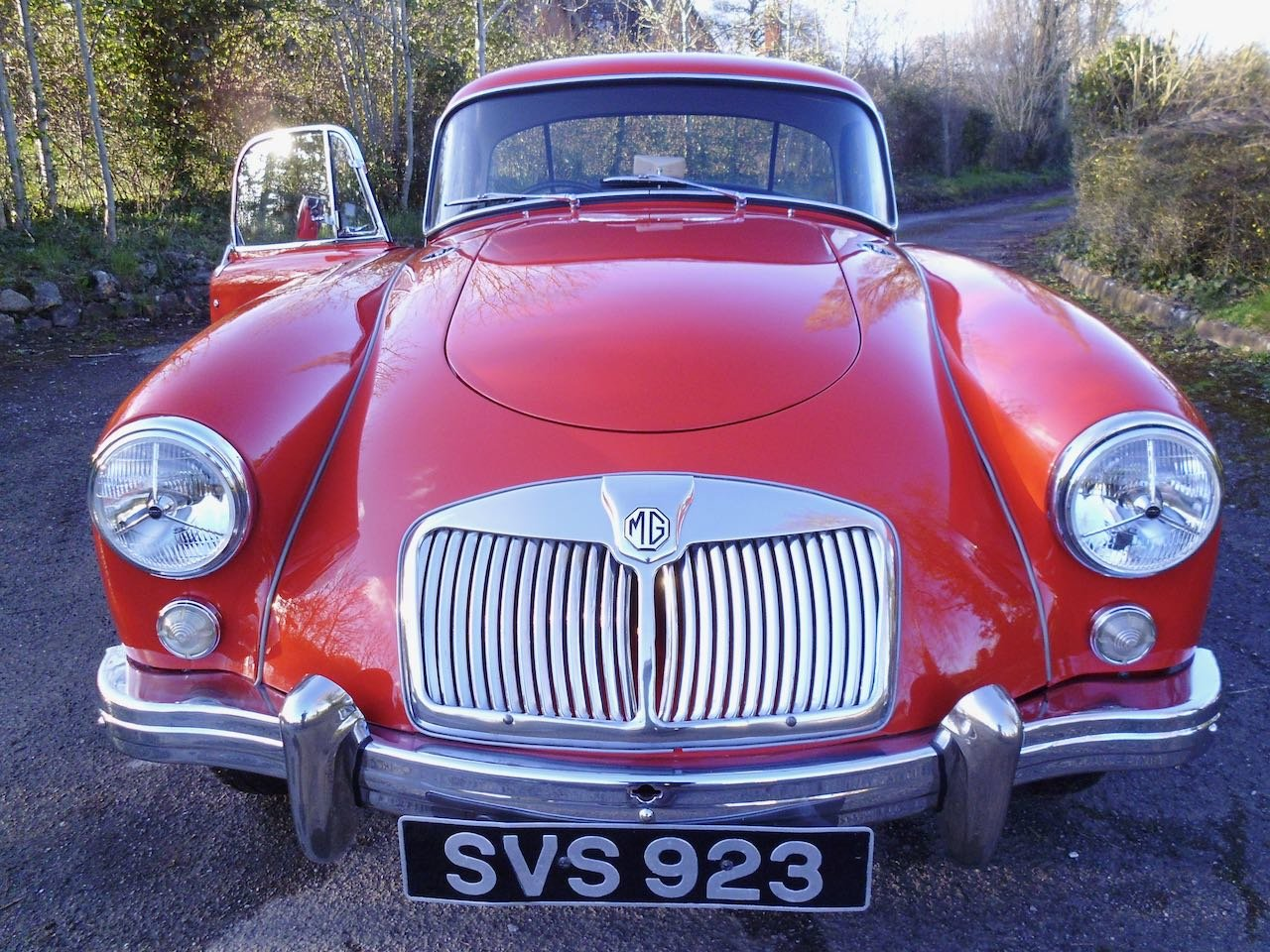 1957 MGA Coupe Total Restoration For Sale (picture 2 of 6)