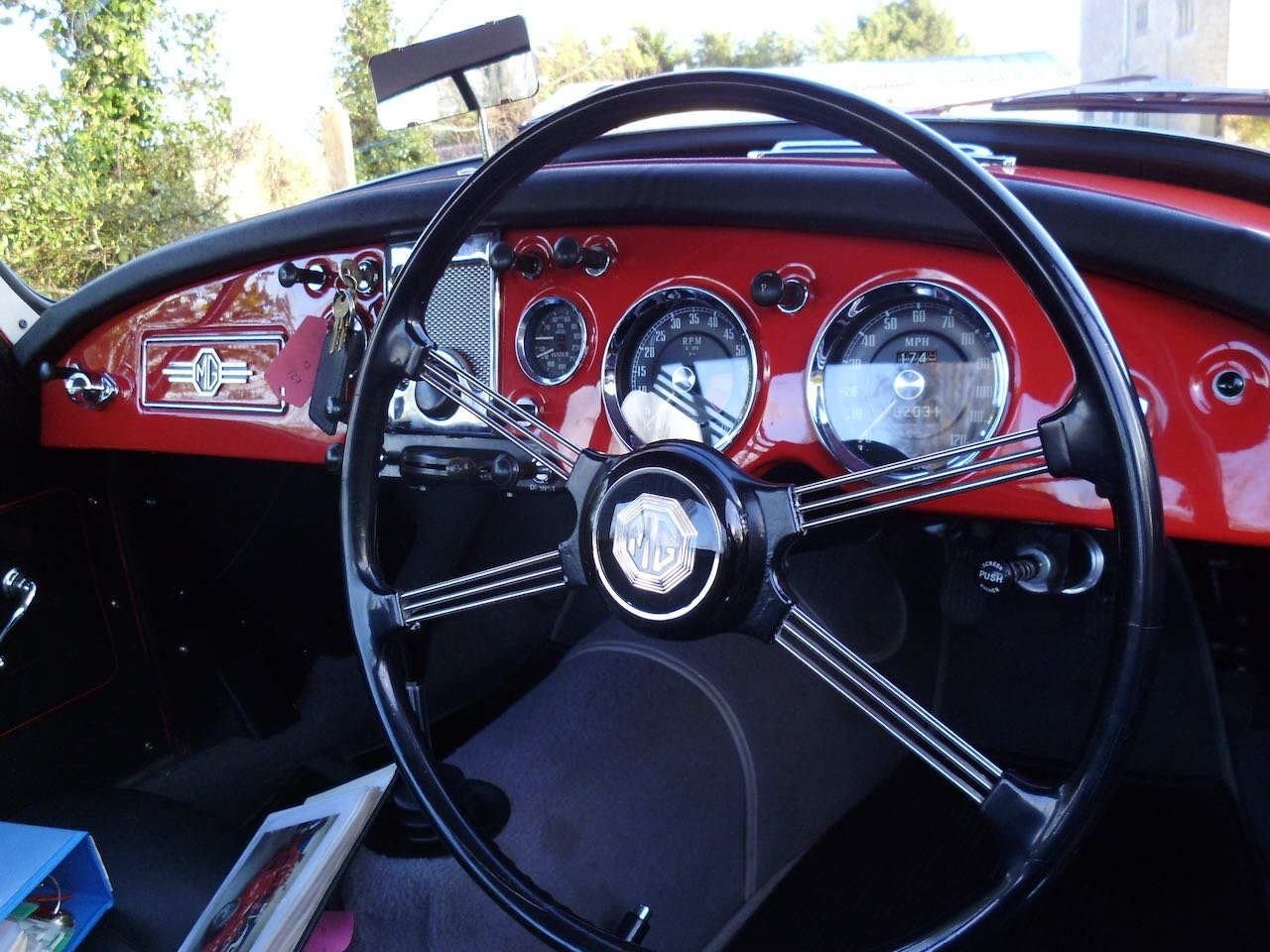 1957 MGA Coupe Total Restoration For Sale (picture 5 of 6)