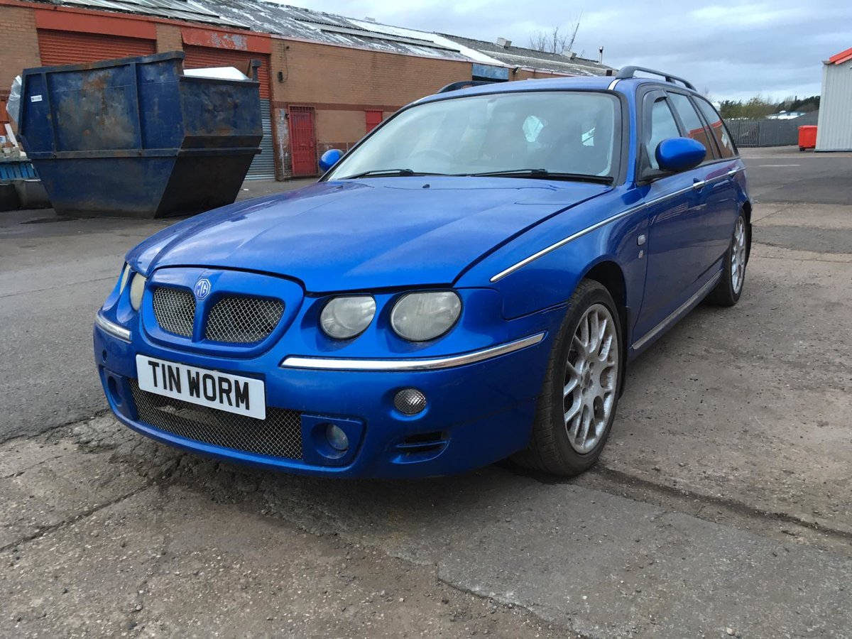 2003 MG ZTT Tourer/Estate 2.0 CDTi Turbo Diesel manual  For Sale (picture 2 of 6)