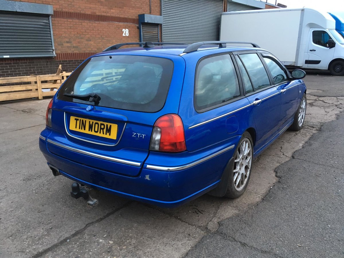 2003 MG ZTT Tourer/Estate 2.0 CDTi Turbo Diesel manual  For Sale (picture 3 of 6)