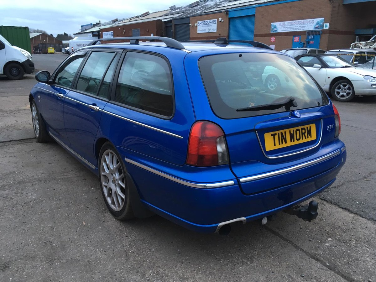 2003 MG ZTT Tourer/Estate 2.0 CDTi Turbo Diesel manual  For Sale (picture 4 of 6)