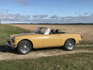 1972 MGB Roadster 3.5 V8 rebuilt on new bodyshell For Sale