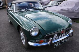 1972 MGB Roadster in BRG For Sale