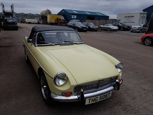 Picture of 1978 MGB Roadster Chrome bumper LHD - Best in Europe For Sale