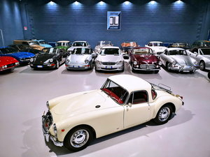 1957 MG A 1500 COUPE' TOTALLY RESTORED For Sale