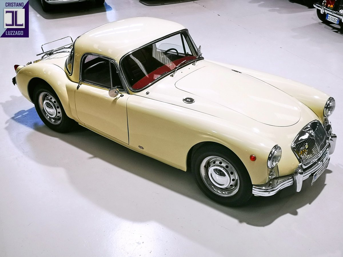 1957 MG A 1500 COUPE' TOTALLY RESTORED For Sale (picture 3 of 6)