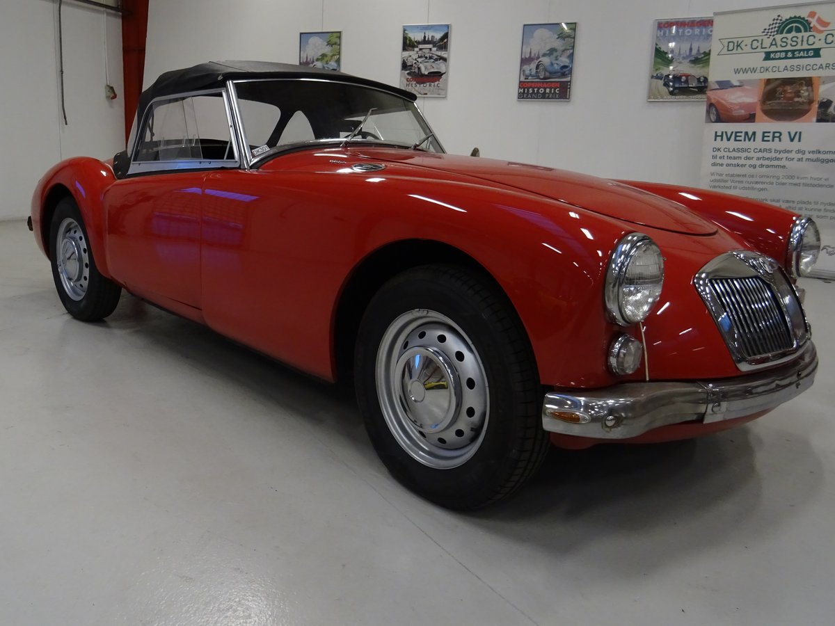 1960 MG MGA 1600 Roadster – fully restored For Sale (picture 1 of 24)