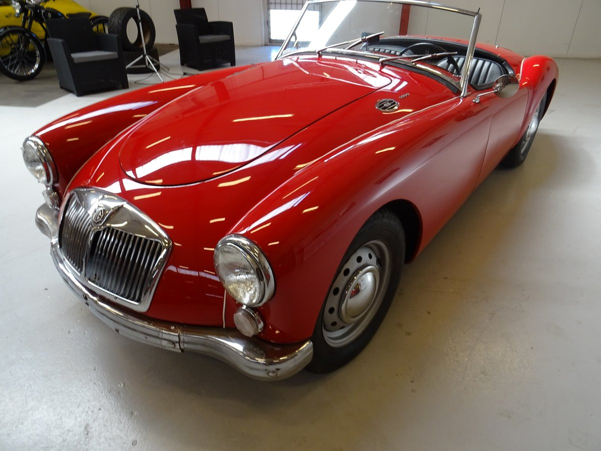 1960 MG MGA 1600 Roadster – fully restored For Sale (picture 4 of 24)
