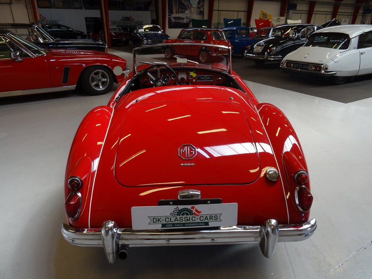 1960 MG MGA 1600 Roadster – fully restored For Sale (picture 5 of 24)