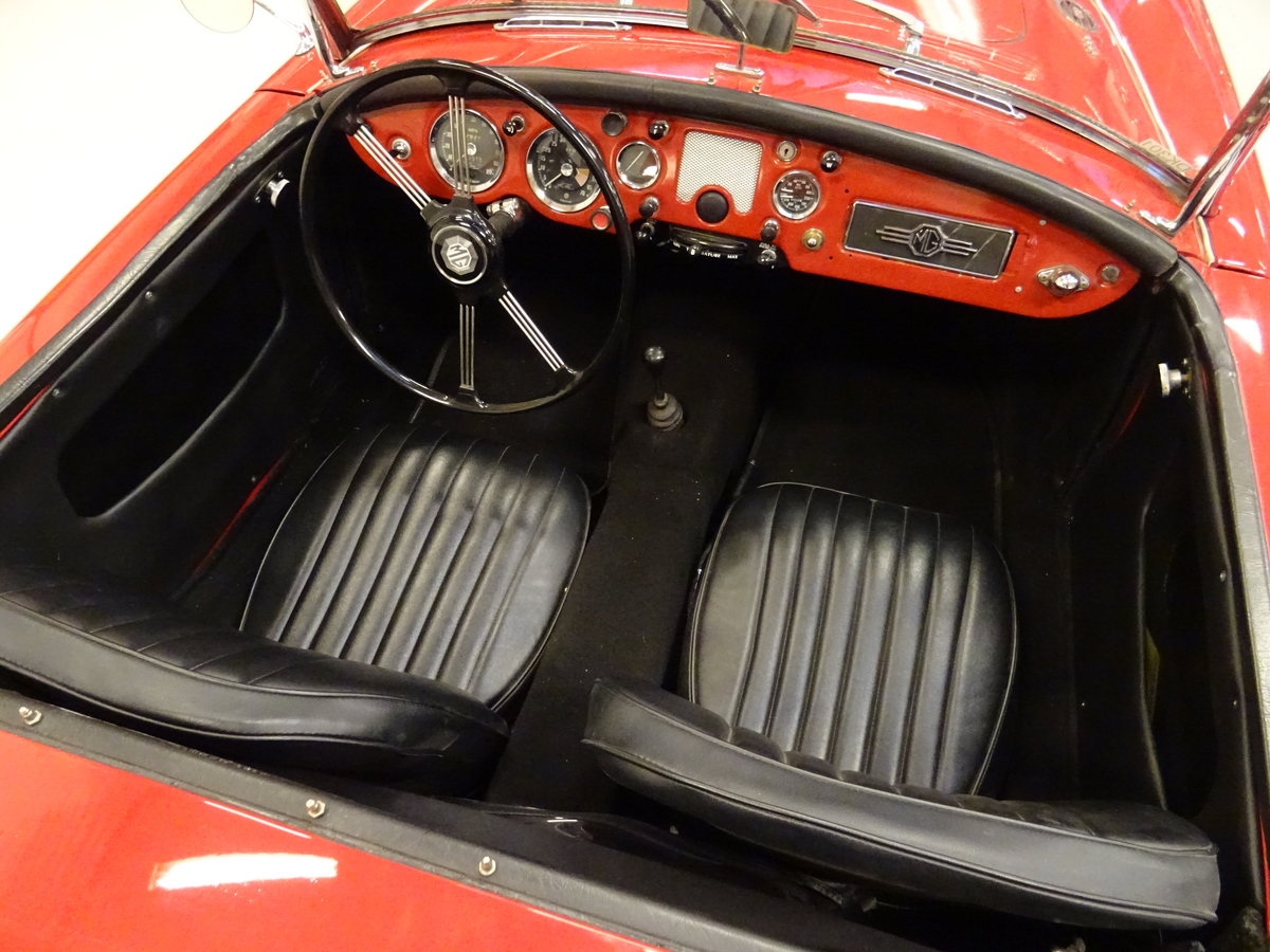 1960 MG MGA 1600 Roadster – fully restored For Sale (picture 6 of 24)