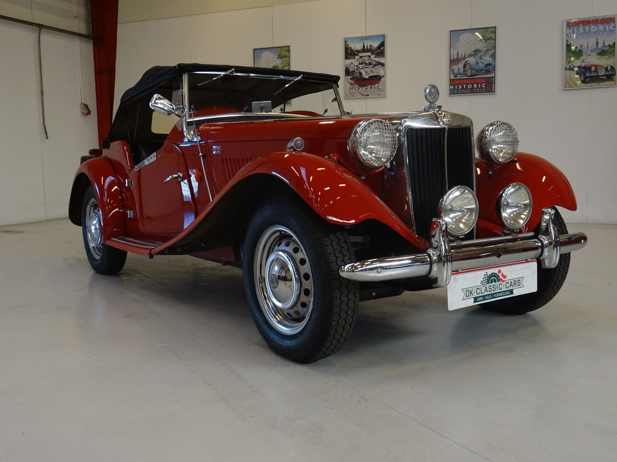 1950 MG TD – Matching numbers car For Sale (picture 1 of 24)