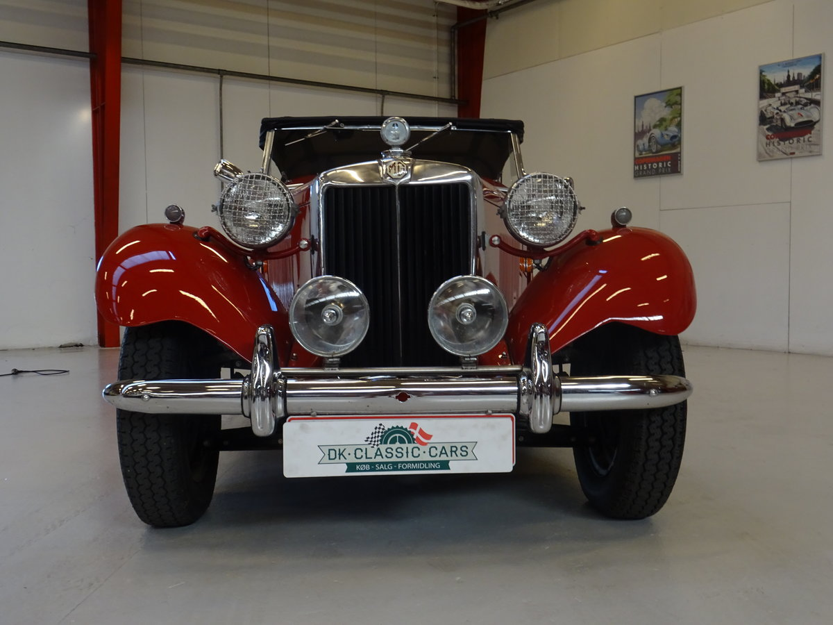 1950 MG TD – Matching numbers car For Sale (picture 2 of 24)