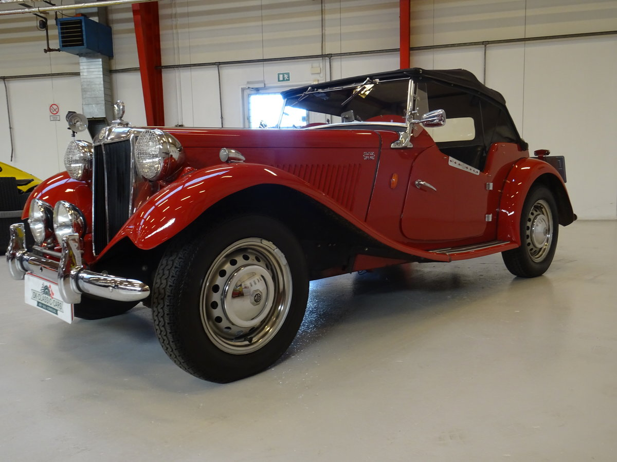 1950 MG TD – Matching numbers car For Sale (picture 3 of 24)
