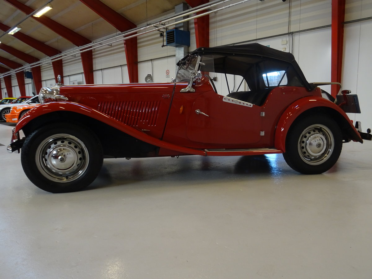 1950 MG TD – Matching numbers car For Sale (picture 4 of 24)