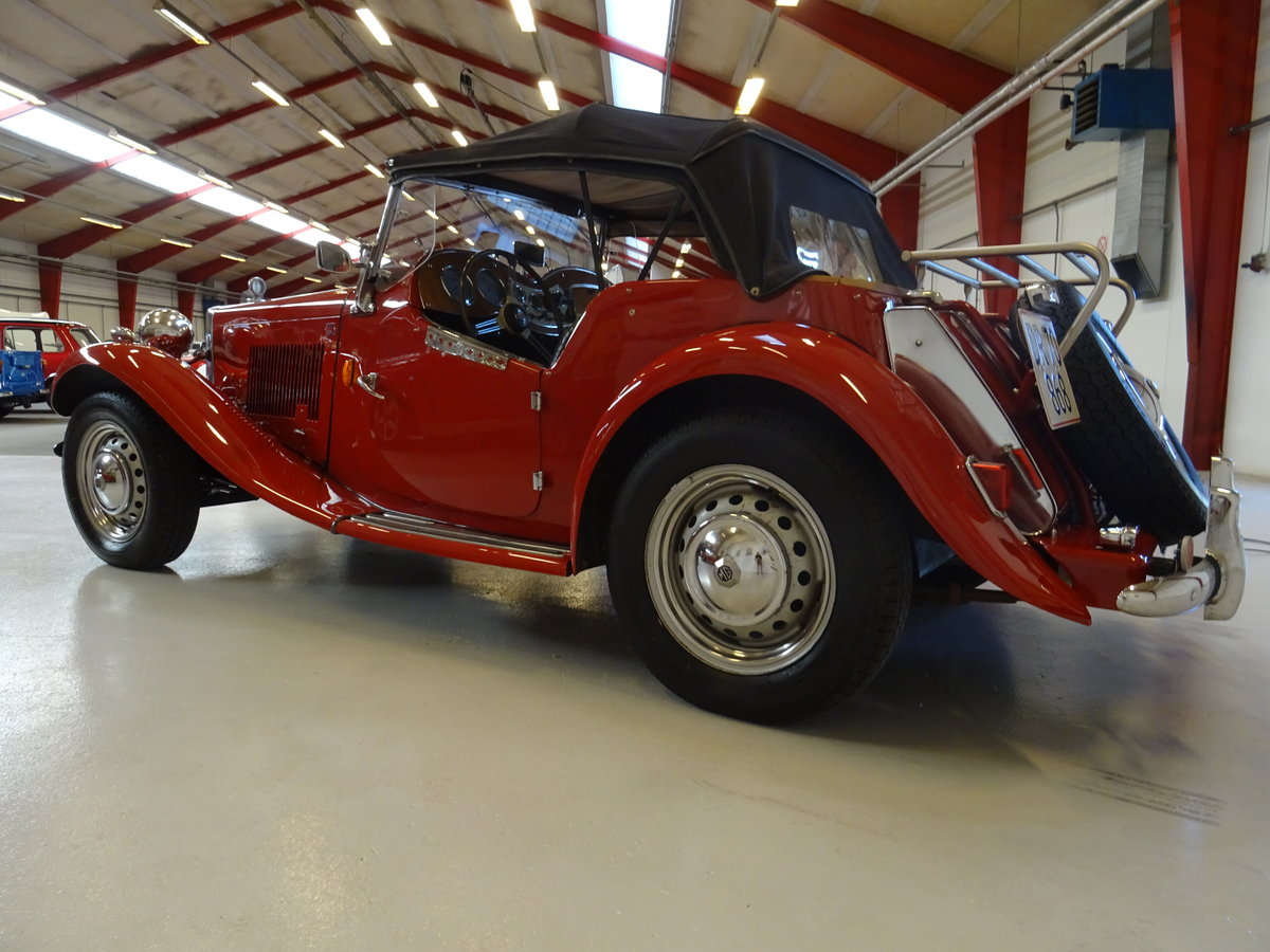 1950 MG TD – Matching numbers car For Sale (picture 5 of 24)