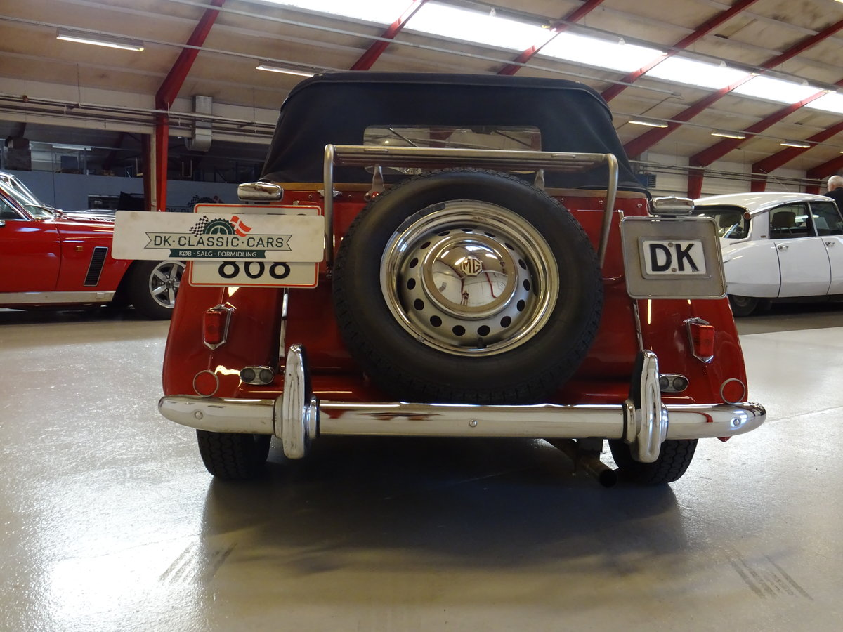 1950 MG TD – Matching numbers car For Sale (picture 6 of 24)