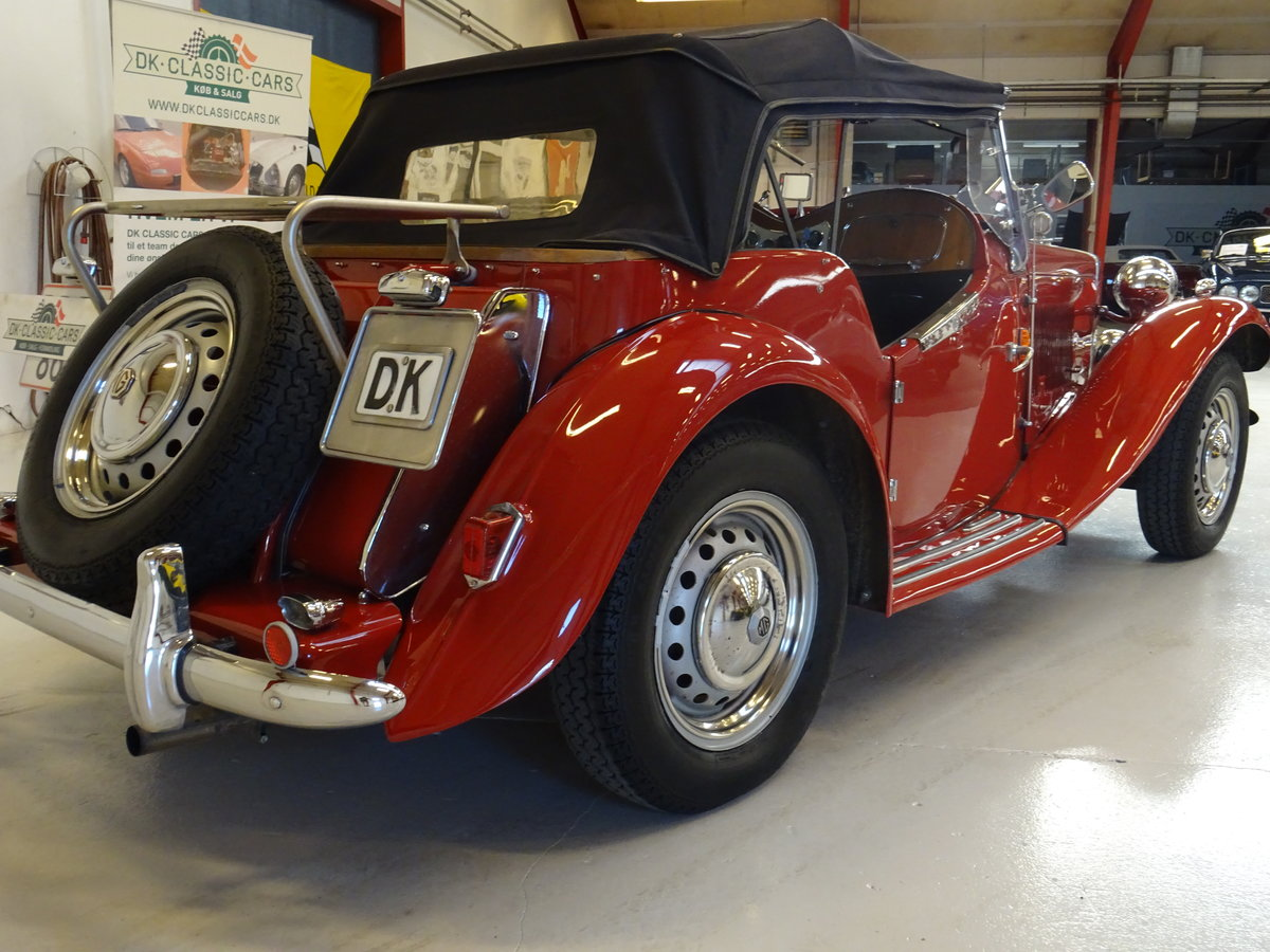 1950 MG TD – Matching numbers car For Sale (picture 7 of 24)