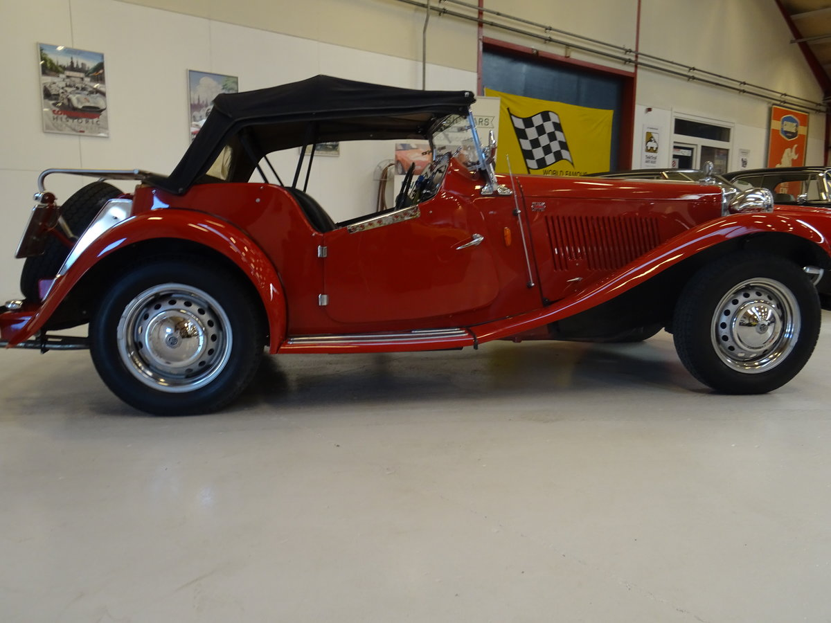 1950 MG TD – Matching numbers car For Sale (picture 8 of 24)