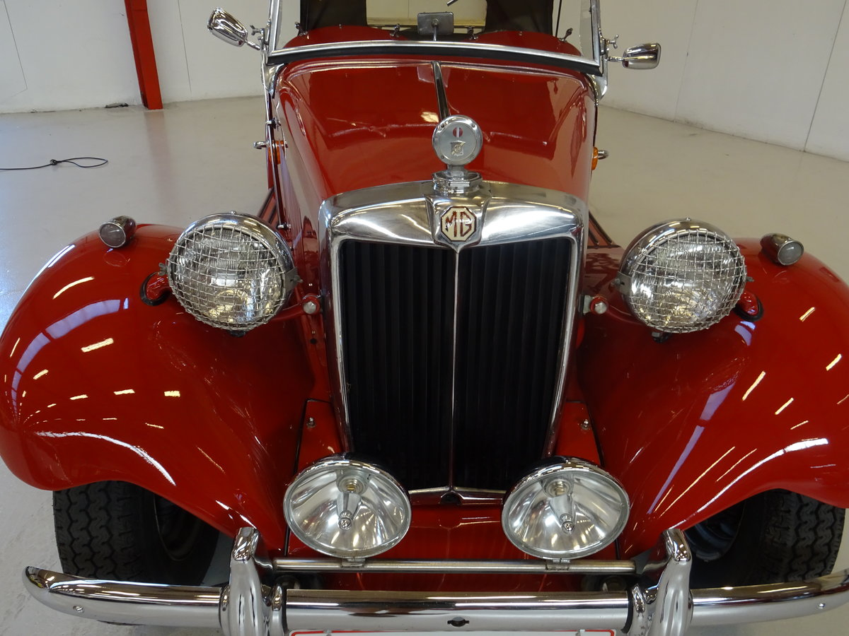 1950 MG TD – Matching numbers car For Sale (picture 9 of 24)
