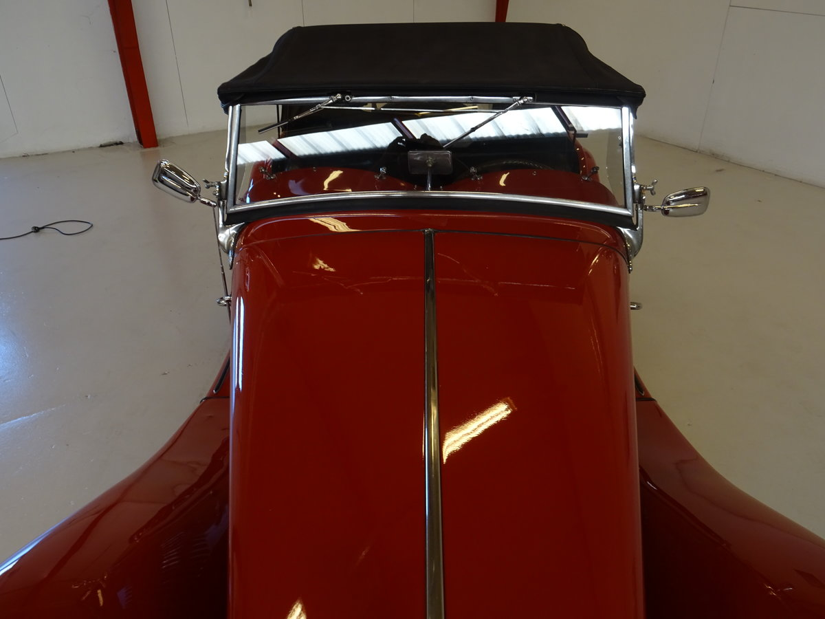 1950 MG TD – Matching numbers car For Sale (picture 10 of 24)