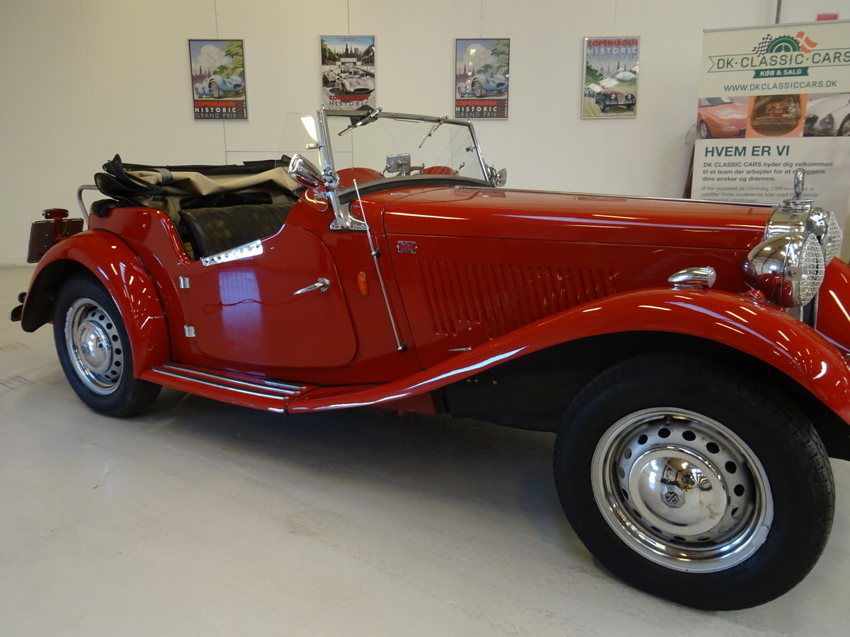 1950 MG TD – Matching numbers car For Sale (picture 15 of 24)