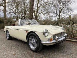 1969  MG C - Completely restored & 204 miles only since
