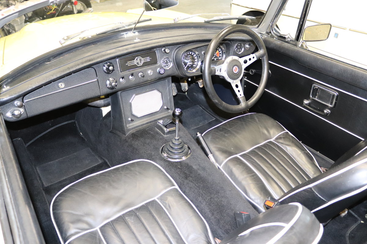 1969 MGC Roadster, bare shell rebuild, UK Car For Sale (picture 6 of 6)
