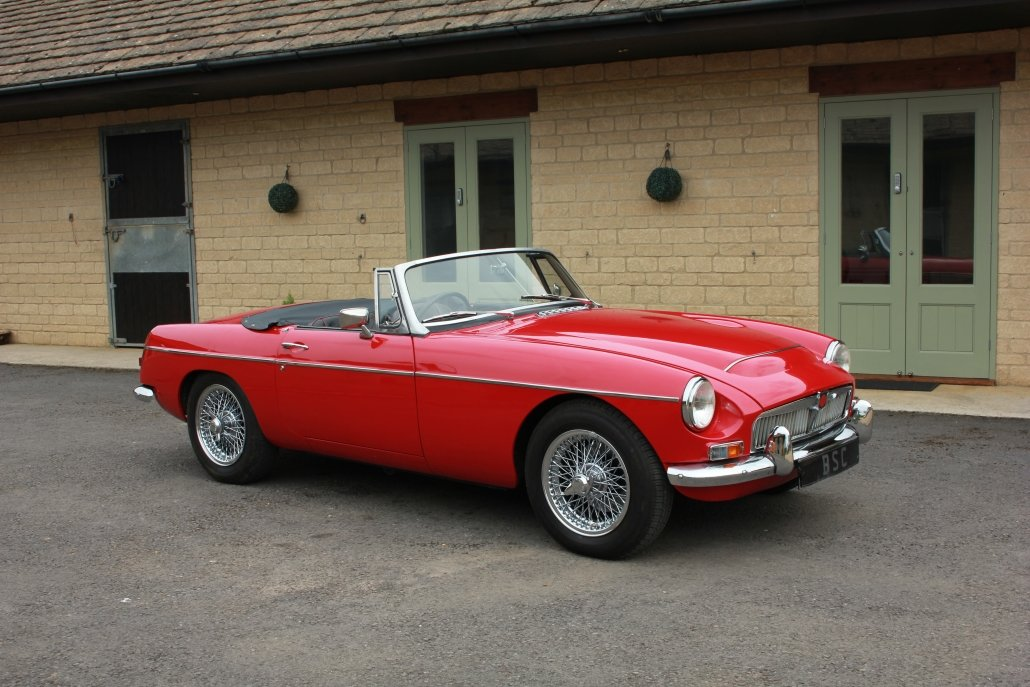 1968 MG C ROADSTER  For Sale (picture 1 of 17)