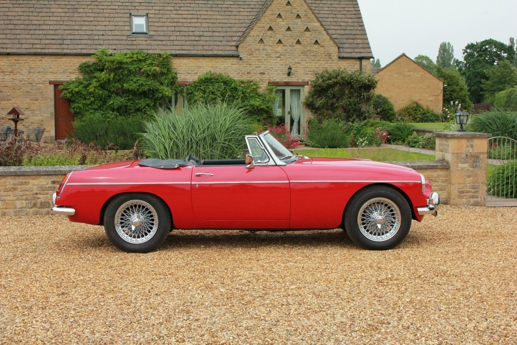 1968 MG C ROADSTER  For Sale (picture 2 of 17)