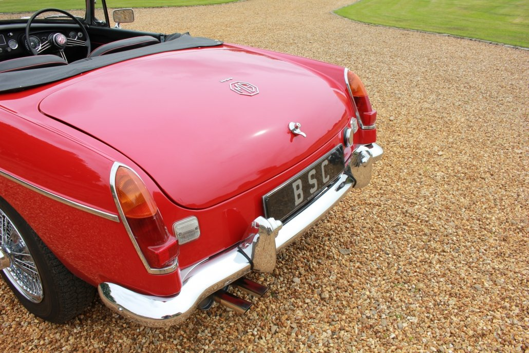 1968 MG C ROADSTER  For Sale (picture 5 of 17)
