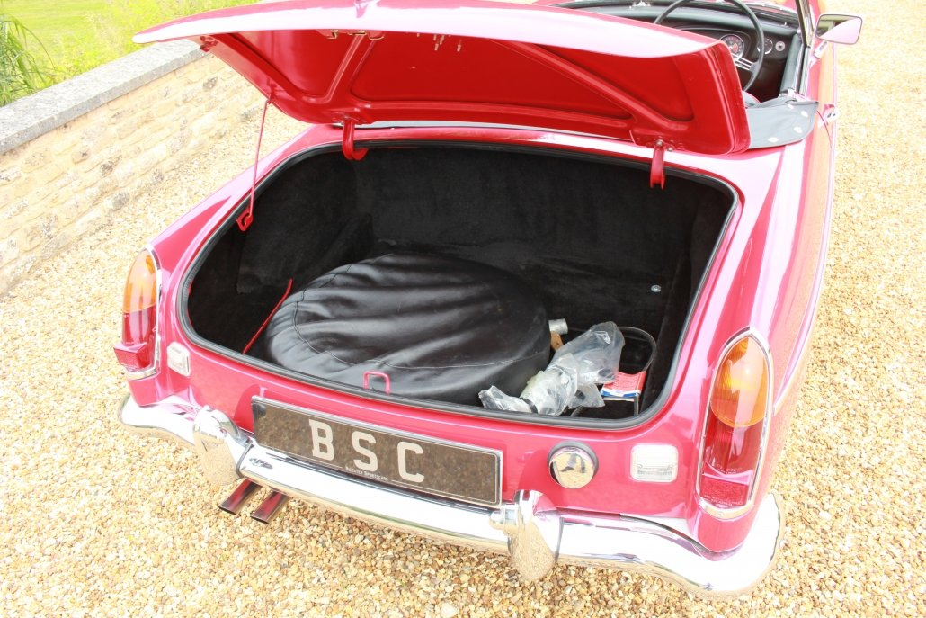 1968 MG C ROADSTER  For Sale (picture 12 of 17)