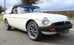 1981 MGB Roadster With Overdrive  53,000 miles  SOLD