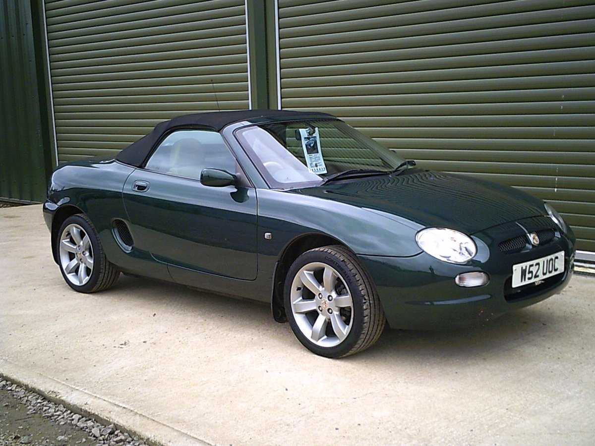 2000 MGF VVC SOLD (picture 1 of 6)