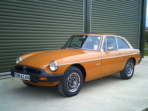 1975 MGB GT V8 ORIGINAL FACTORY CAR, investment quality For Sale