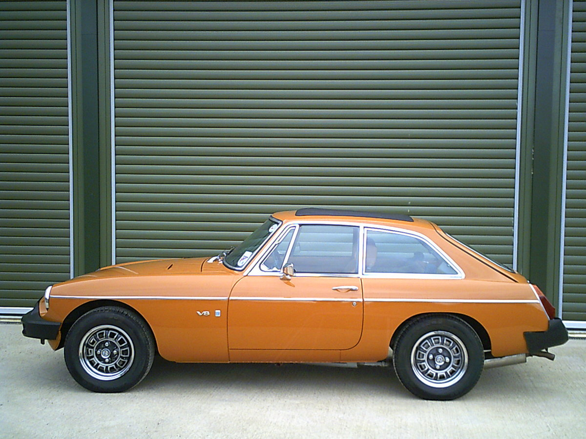 1975 MGB GT V8 ORIGINAL FACTORY CAR, investment quality For Sale (picture 3 of 6)