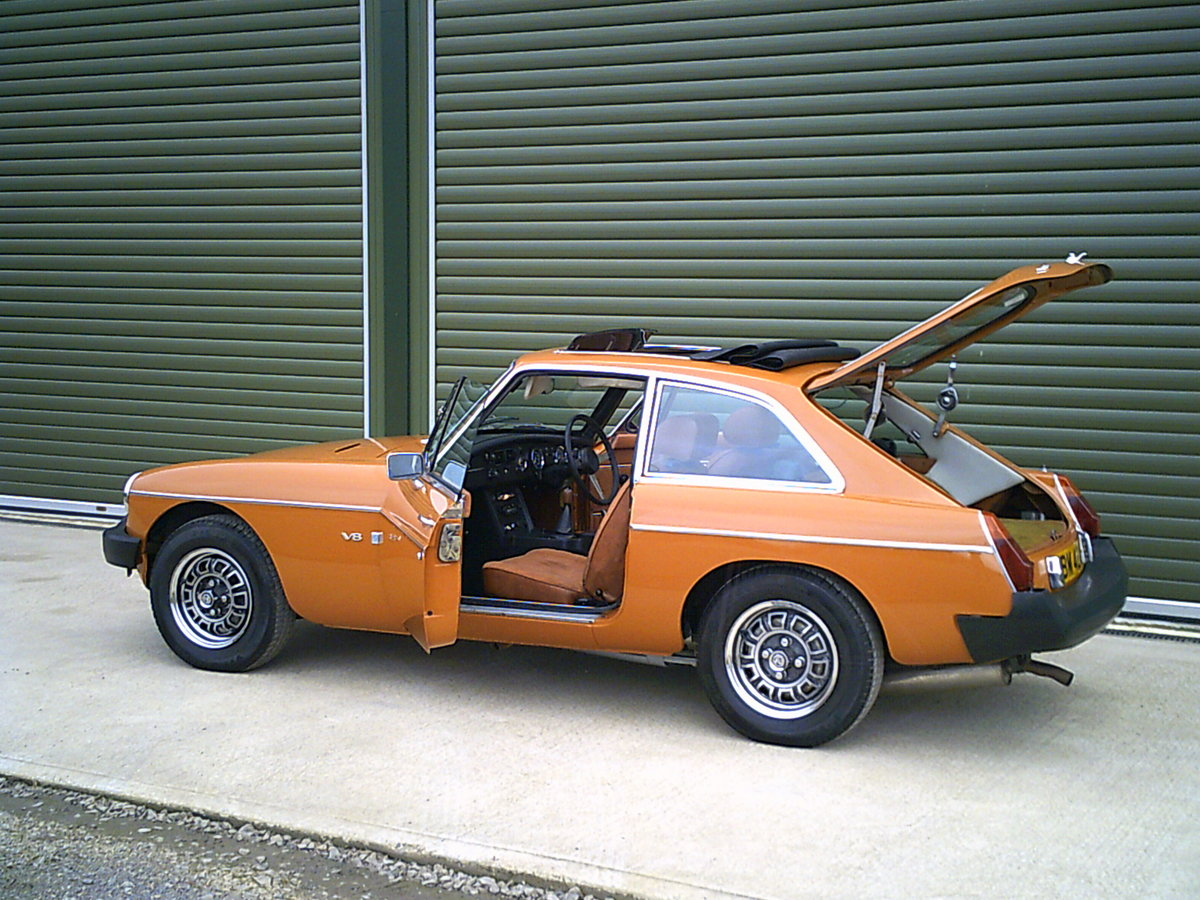 1975 MGB GT V8 ORIGINAL FACTORY CAR, investment quality For Sale (picture 5 of 6)