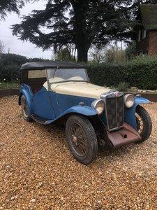 1935 Mg NA 6 cylinder tourer