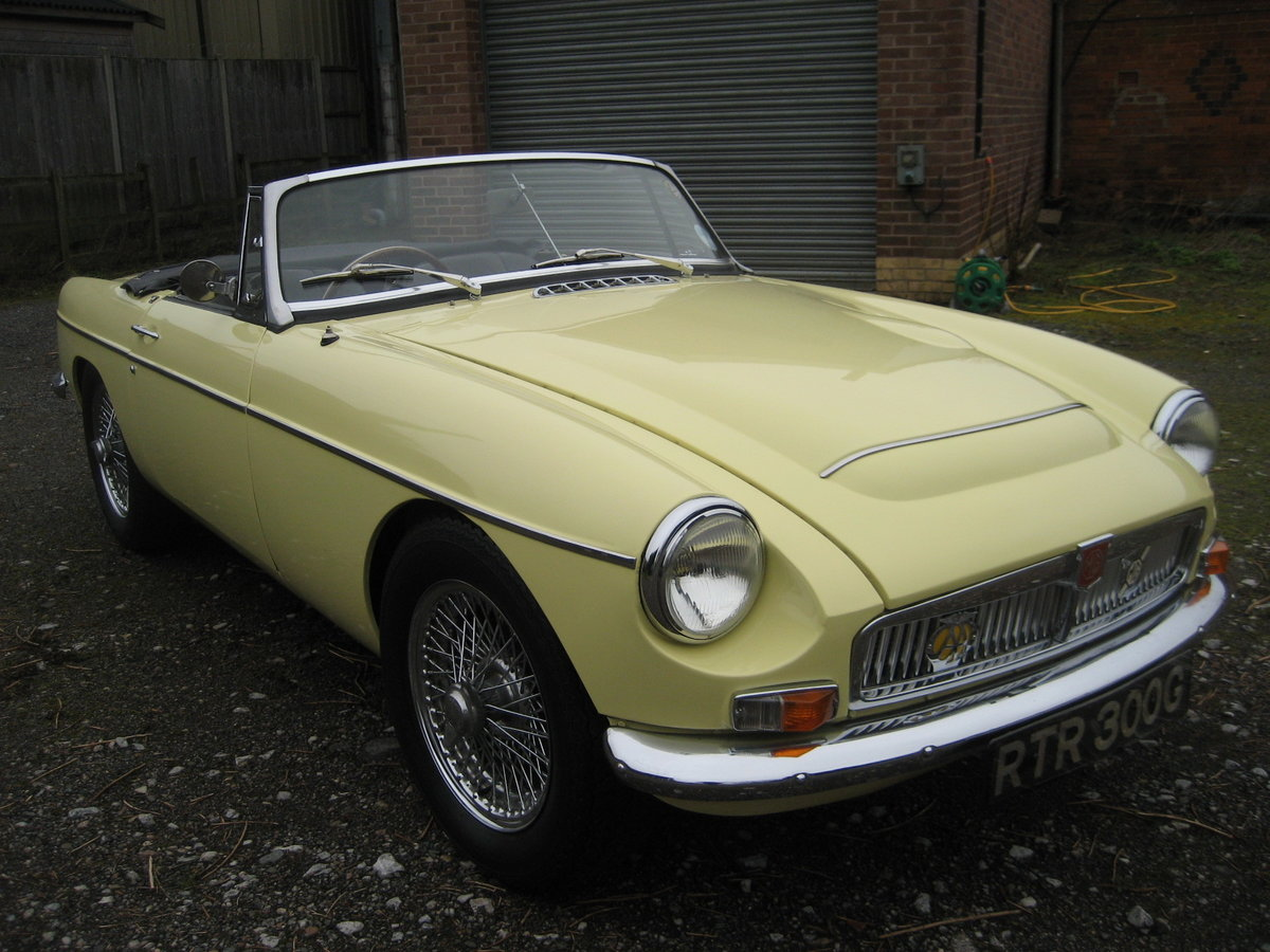 1969 MGC Roadster For Sale (picture 1 of 6)