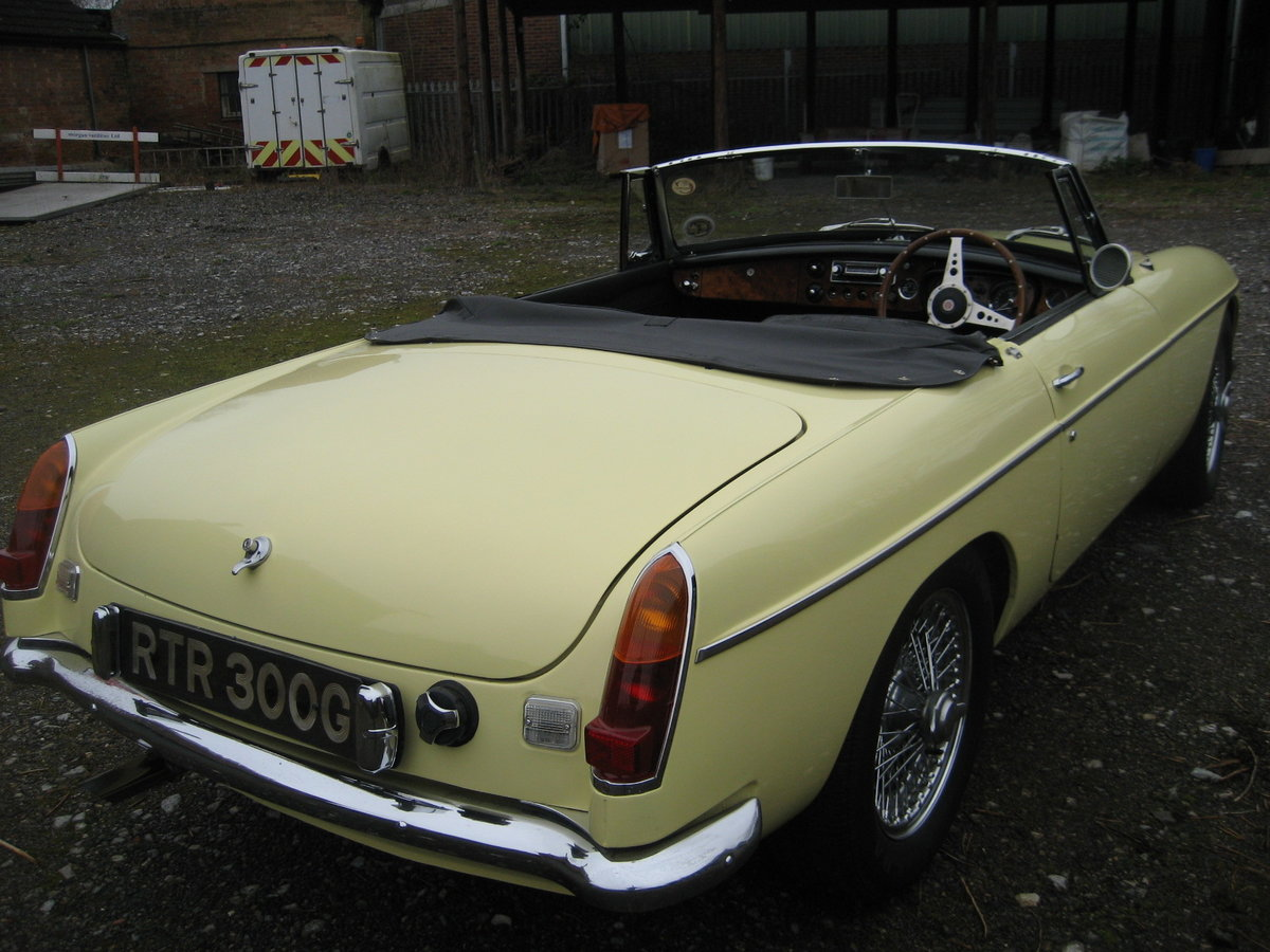 1969 MGC Roadster For Sale (picture 3 of 6)