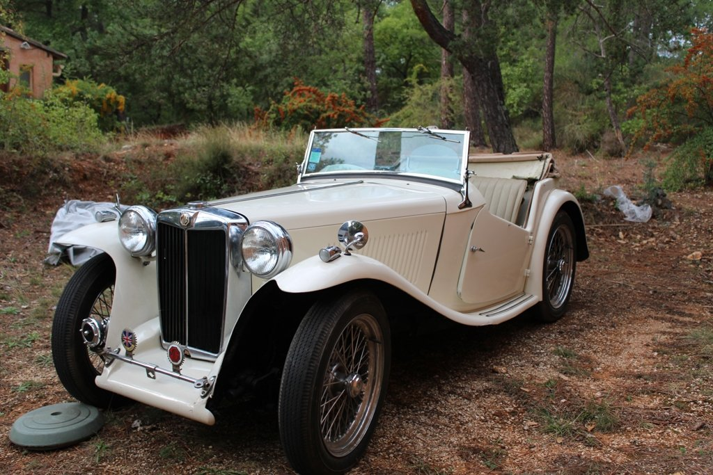 1947 MG TC Prep. Laystall & Lucas For Sale (picture 1 of 4)