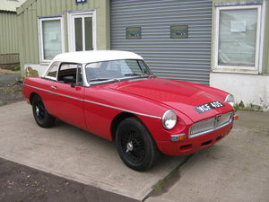 1963 MGB ROADSTER EARLY PULL HANDLE & 9TH OLDEST KNOWN MGB. SOLD