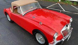 1960 MG MGA Roaster Convertible Full Restored Red LHD $27k