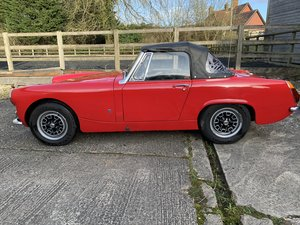 MG Midget for sale. MkIII 1275cc Midget in Red