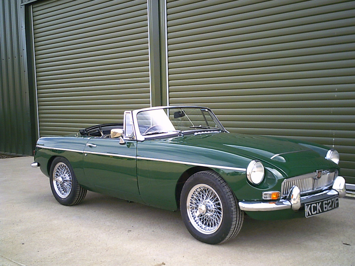 1968 MGC Roadster. Recent restoration.  SOLD (picture 1 of 6)
