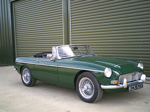 1968 MGC Roadster. Recent restoration.